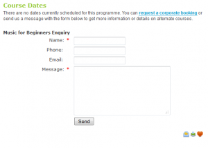Personal Enquiry Form