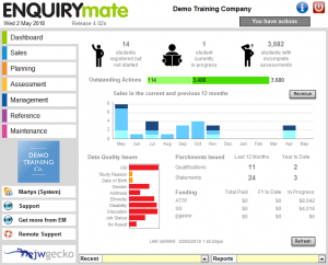 Enquiry Mate Dashboard