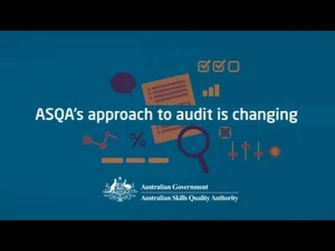 ASQA's approach to audit is changing